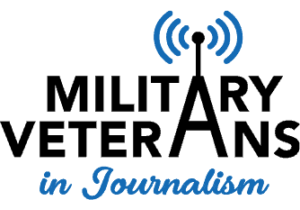 Military Veterans in Journalism MVJ logo transparent